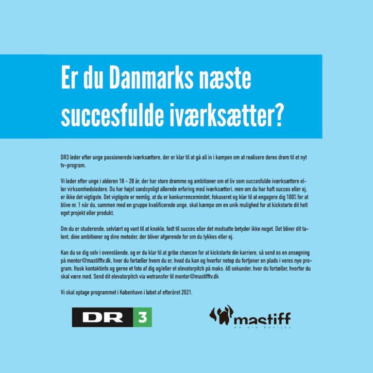 Danmarks næste succesfulde iværksætter